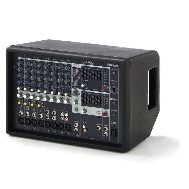 Yamaha emx312sc console de mixage console de mixage amplifi e - Console de mixage amplifiee ...