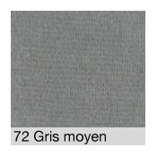 Coton Gratté GRIS MOYEN 72 pour habillage scènique