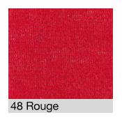Coton Gratté ROUGE 48 pour habillage scènique