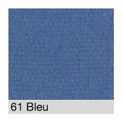 Coton Gratté BLEU 61 pour habillage scènique