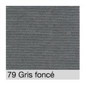 Coton Gratté GRIS FONCE 79 pour habillage scènique