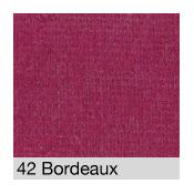 Coton Gratté BORDEAUX 42 pour habillage scènique