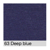 Coton Gratté DEEP BLUE 63 pour habillage scènique