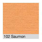 Coton Gratté SAUMON 102 pour habillage scènique