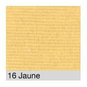 Coton Gratté JAUNE PALE 16 pour habillage scènique