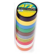 Ruban Adhésif Gaffer - Lot de 10 couleurs 15 mm x 10 m