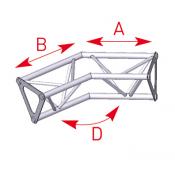 Angle 2 départs 135° lg 0m25 x 0m25 - 57ASD1525