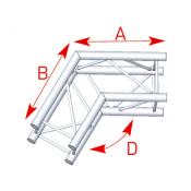 Angle 2 départs 120° lg 0m50 x 0m50 - 57ASZ24
