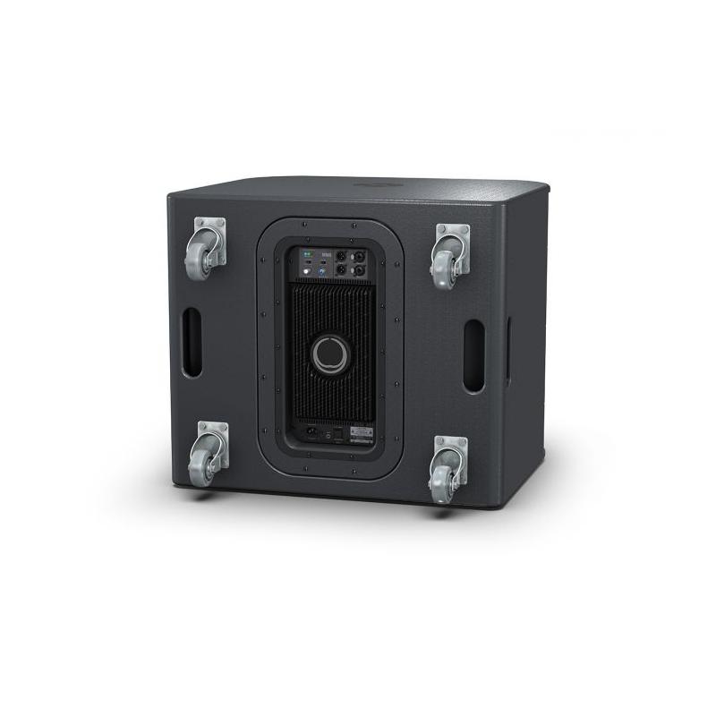 turbosound milan m18b 2 enceinte caisson de basse amplifi. Black Bedroom Furniture Sets. Home Design Ideas