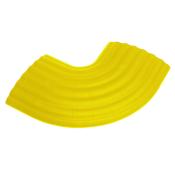 Passage de Câble Bureau 4 Canaux jaune DEFENDER OFFICE