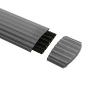 Sortie de Câble gris pour Passage de Câble 4 Canaux DEFENDER OFFICE