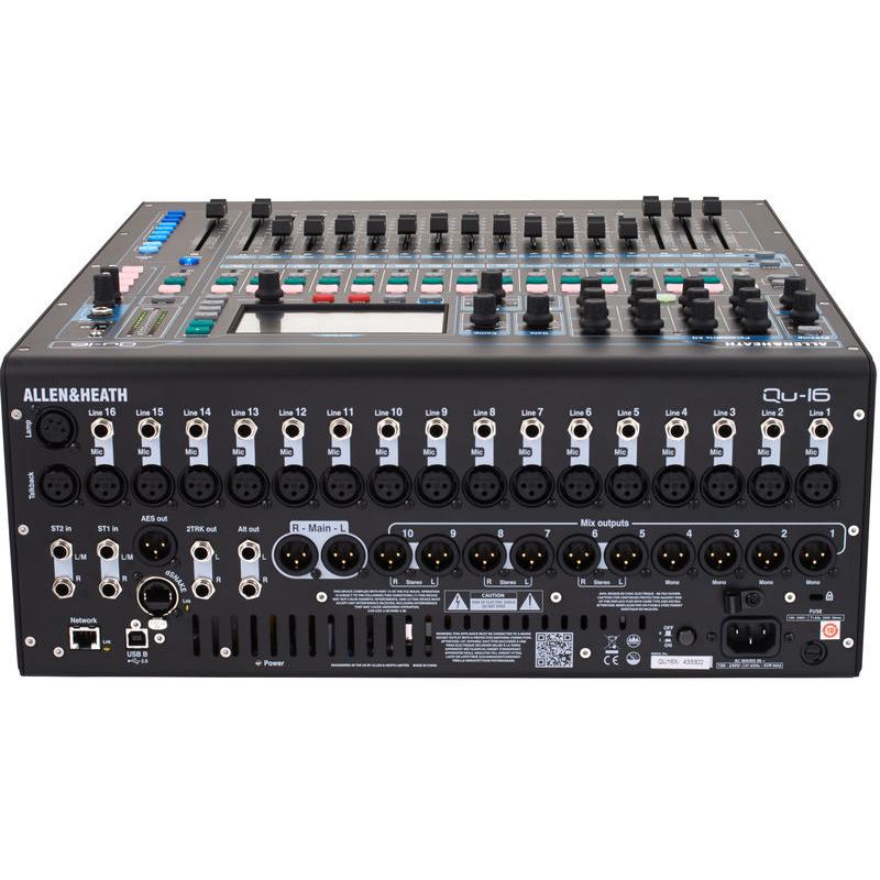 Allen heath qu 16 console de mixage console de mixage - Console de mixage numerique ...