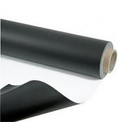 Tapis de danse réversible PVC Noir/Blanc Largeur de 1M50