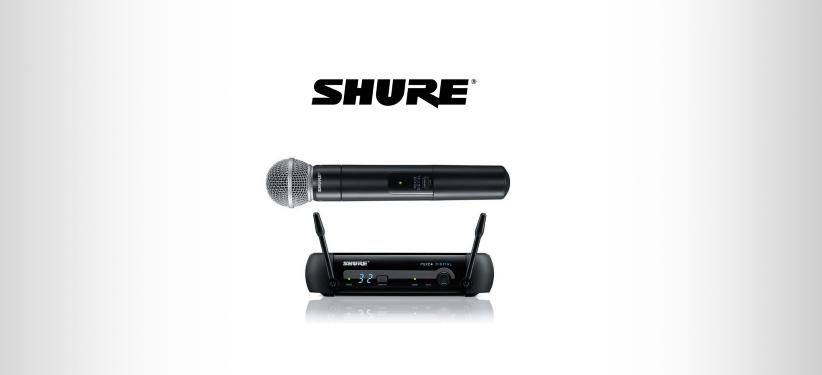 SHURE SM 58 Micro sans fil