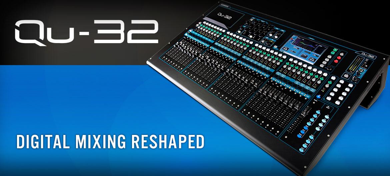 Allen & Heath Console de mixage QU 32